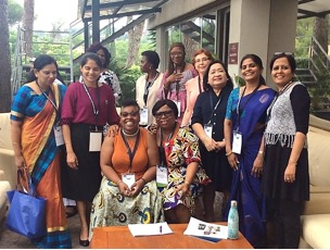 Some participants of the Special Interest Group on Teacher Education (The others are not in the picture)